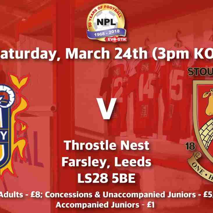 Farsley Celtic v Stourbridge - Match Preview
