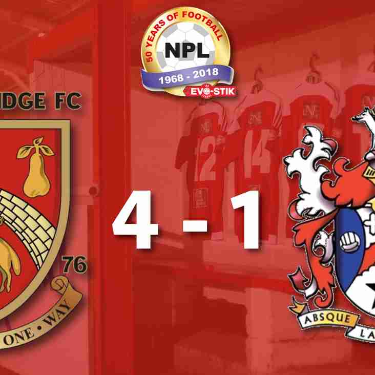 Stourbridge 4-1 Stalybridge Celtic - Match Report