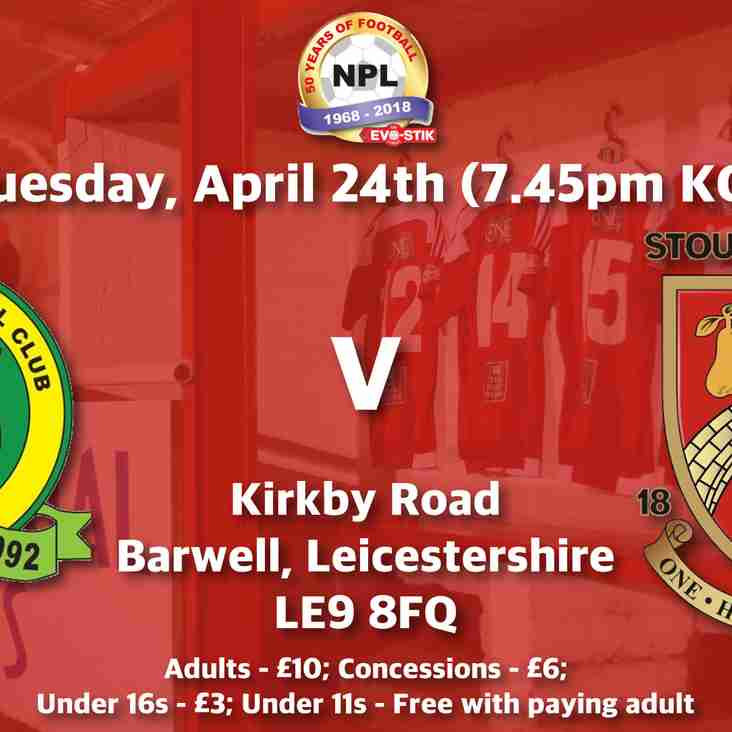 Barwell v Stourbridge - Match Preview