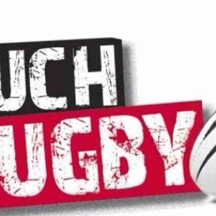 Touch Rugby: Every Wednesday 7PM at Club
