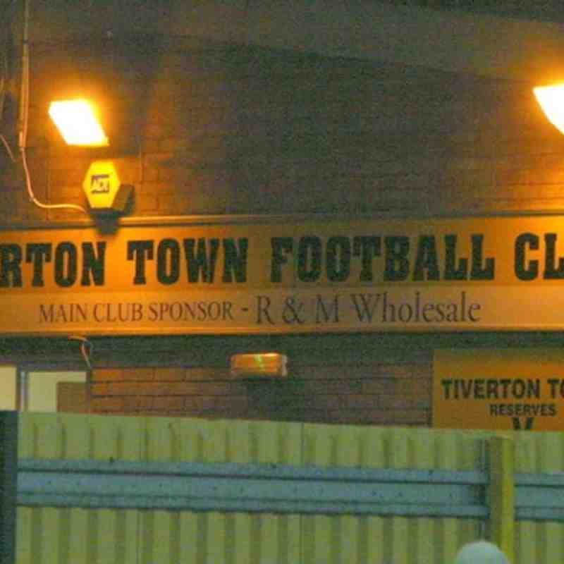Tiverton Town Away - 09/04/2013