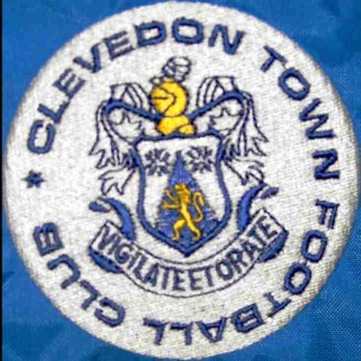 Clevedon Town Under 18s v Taunton Town Under 18s POSTPONED