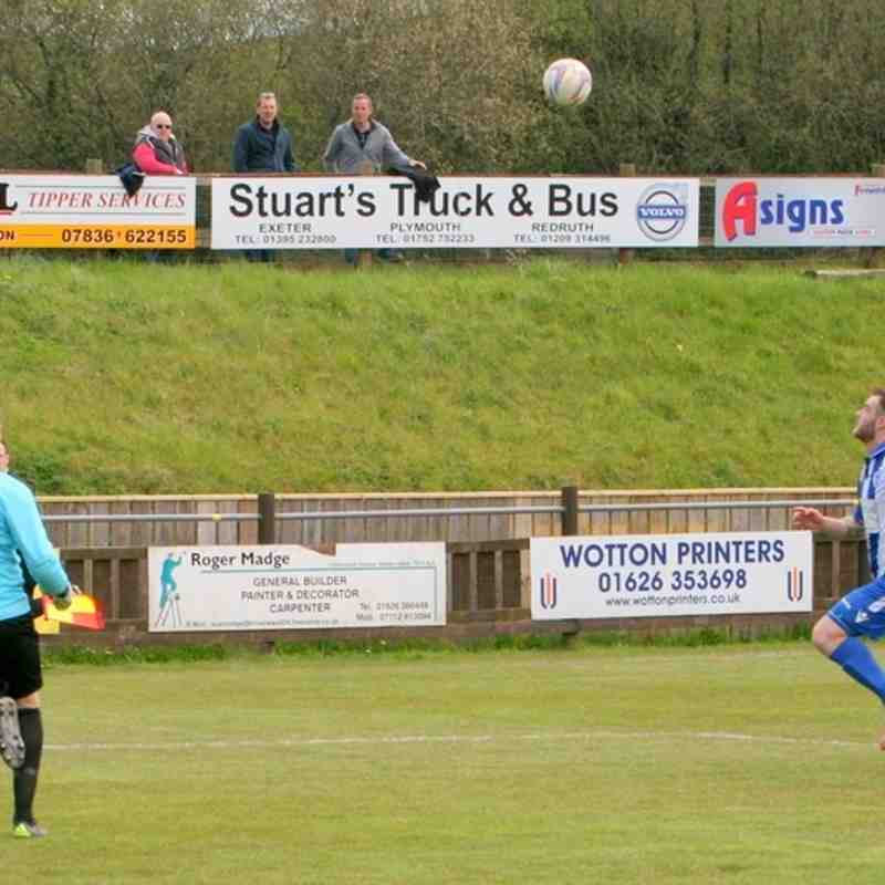 Buckland Athletic Away - 30/04/2016