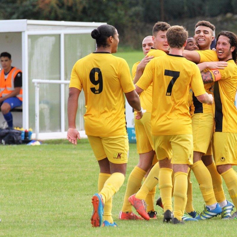Bradford Town (1) v Clevedon Town (1) - Match Report