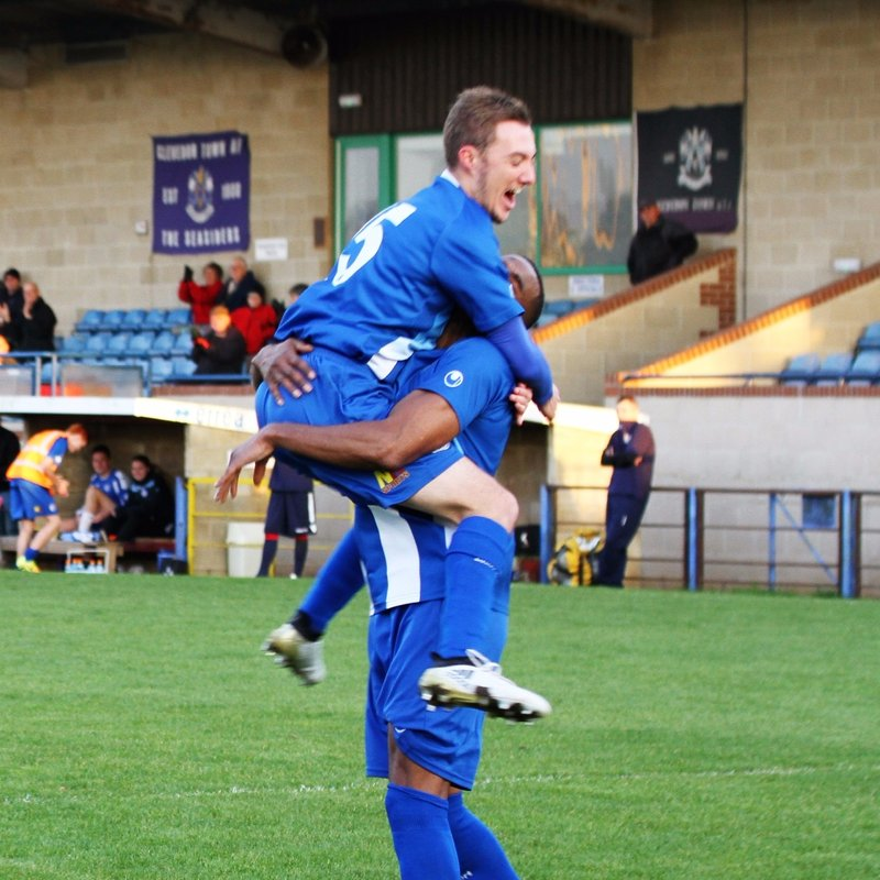 Clevedon Town (4) v Willand Rovers (2) - FA Vase First Round - Match Report