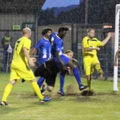 Clevedon Town (4) v Wells City (3) - Match Report