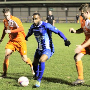 Clevedon Town (2) v Gillingham Town (1) - Match Report