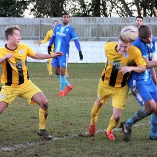 Odd Down (3) v Clevedon Town (2) - Match Report