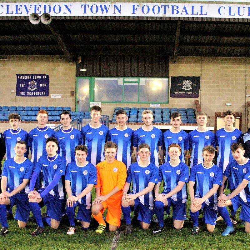 Under 18 beat Ashton & Backwell FC 6 - 0