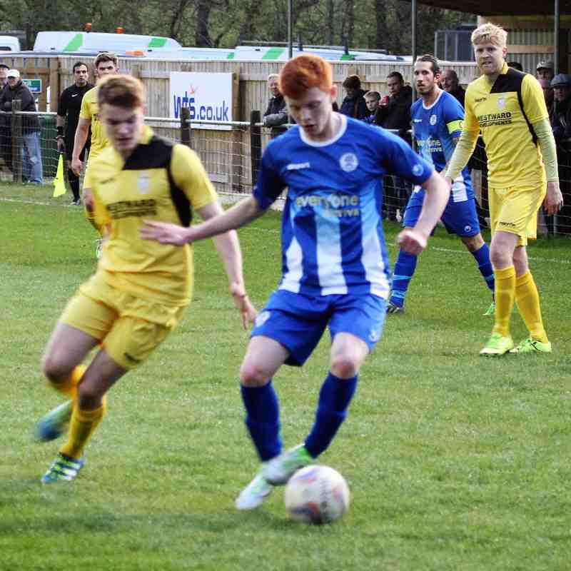 Buckland Athletic Away - 04/04/2017