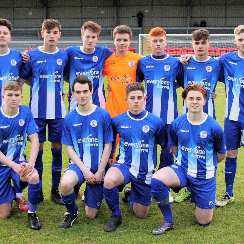 Radstock Town Under 18s (1) v Clevedon Town Under 18s (5) - Roger Stone Memorial Cup Final - Match Report