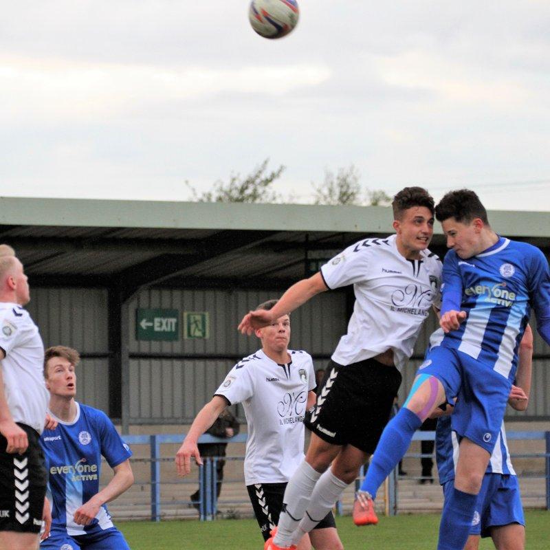 Clevedon Town Under 18s (1) v Weston-super-Mare Under 18s (2) - Match Report