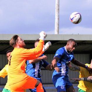 Clevedon Town (1) v Bitton (1) - Match Report