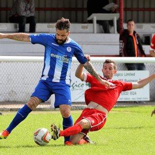 Barnstaple Town (1) v Clevedon Town (0) - Match Report