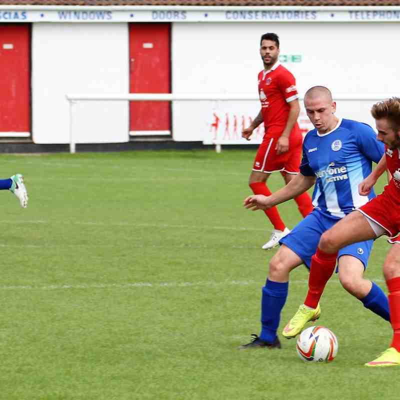 Barnstaple Town Away - FA Cup - 19/08/2017