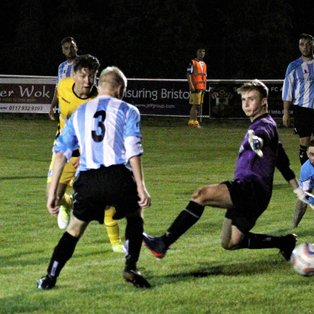 Longwell Green (0) v Clevedon Town (5) - Match Report