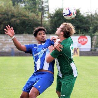 Clevedon Town (2) v Wincanton Town (1) - Les Phillips Cup - Match Report
