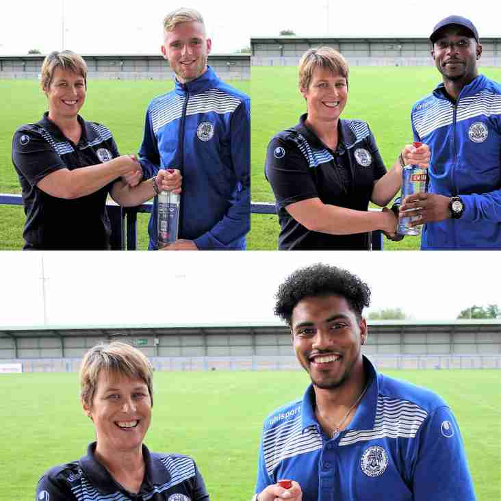 Congratulations to Isaac Reid, Daine O'Connor & Ryan Gissing