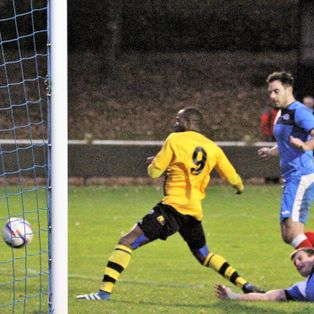 Cribbs (2) v Clevedon Town (1) - Les Phillips Cup - Match Report