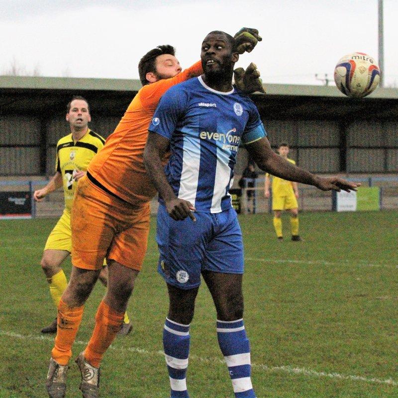 Clevedon Town (2) v Wells City (1) - Match Report