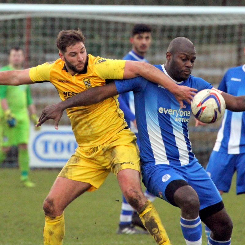 Clevedon Town (0) v Buckland Athletic (1) - Match Report