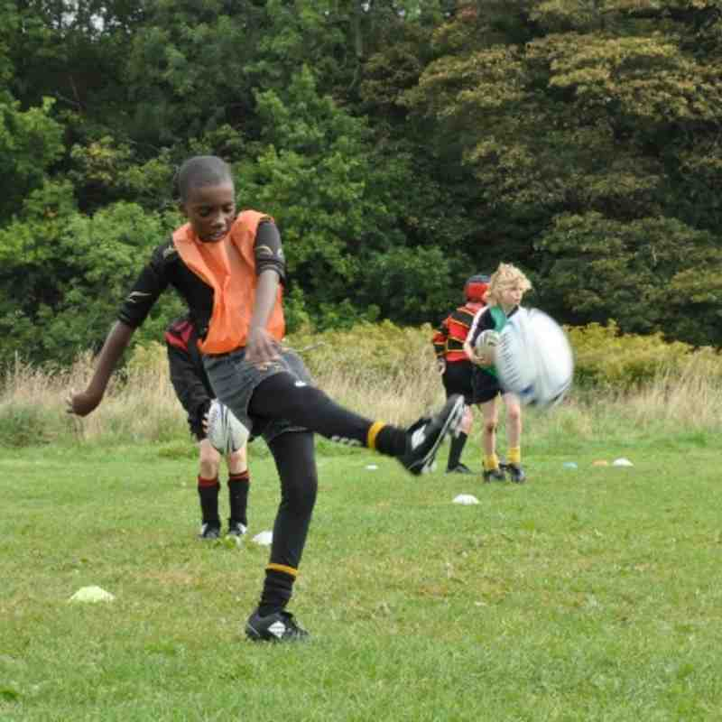 U11s training Sunday September 18 2011