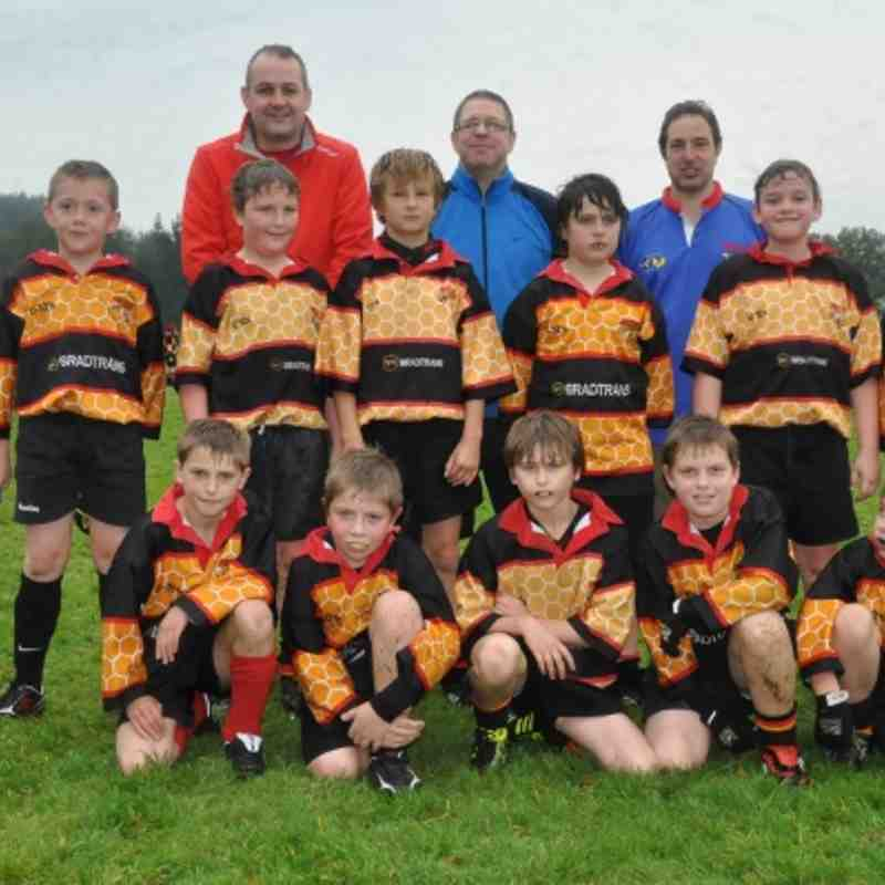 U10s Team Photo Oct 2 2011