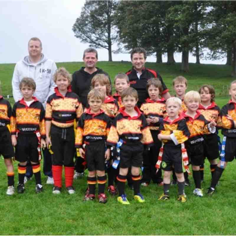 U7s / U8s Team Photo Oct 2 2011