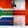 England rugby summer tour of South Africa