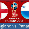 FIFA World Cup England V Panama