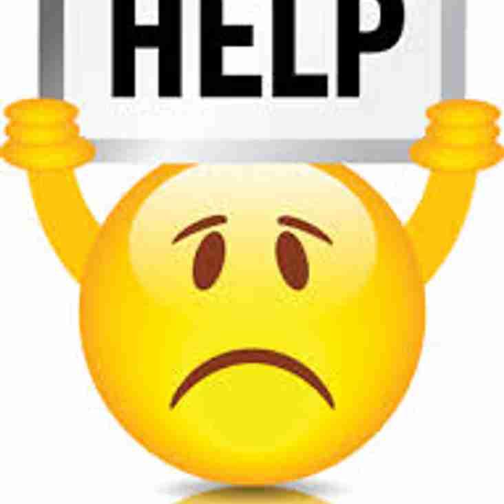 Volunteer help please