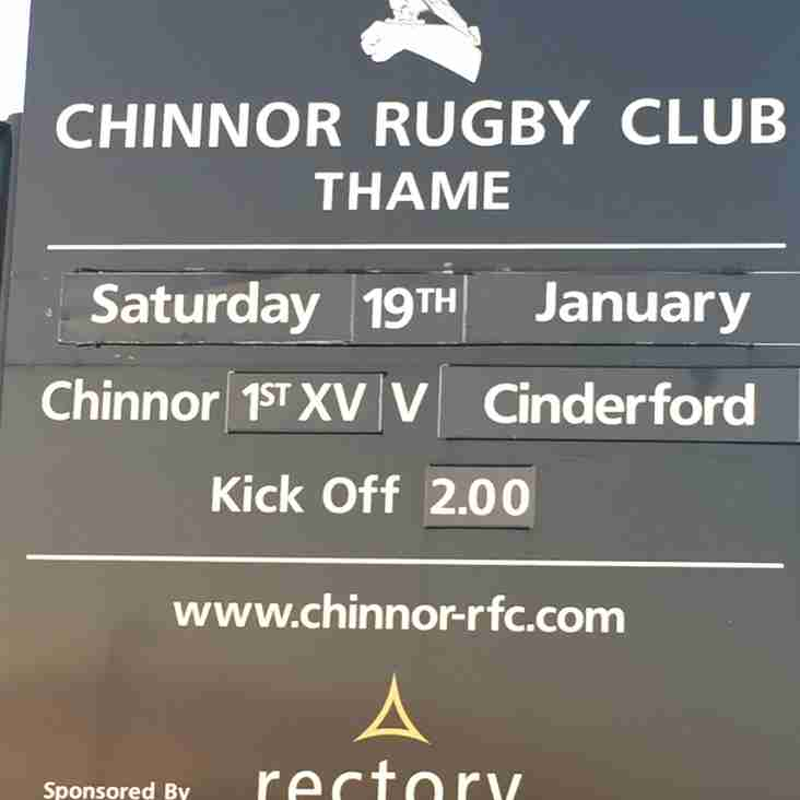 We need your support for the visit of Cinderford RFC