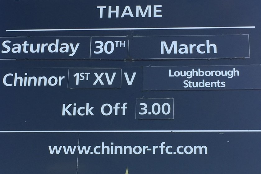 Next up at Kingsey Road Loughborough Students
