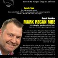 Last match day lunch of the season with Mark Regan MBE 'Rugby speaker of the year 2018'