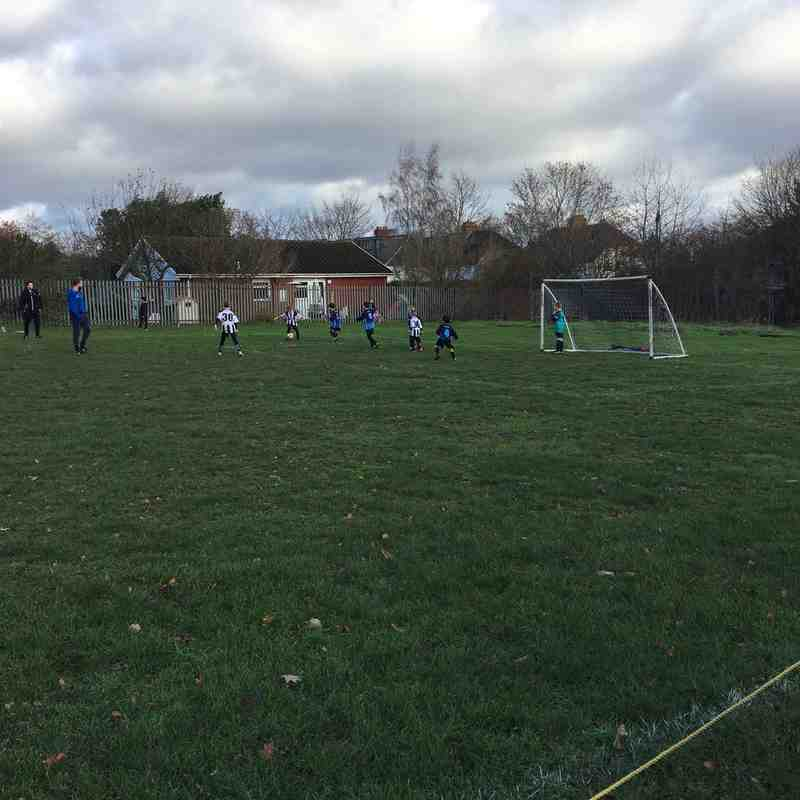 Worplesdon Rangers U8 Eagles vs Abbey Rangers U8 Diamonds