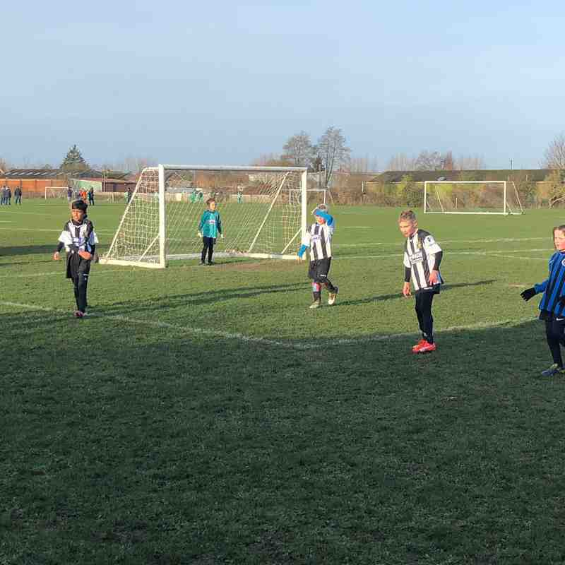 Abbey Rangers U8 Diamonds vs Knaphill Athletic U8 Sharks
