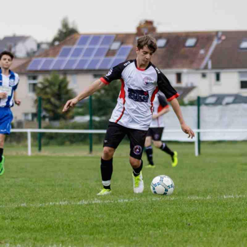Portishead Town U18 vs. Swiss Valley Rangers 24th September 2017