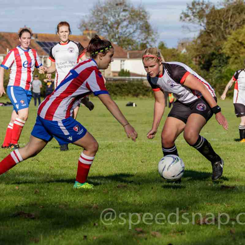Portishead Town Ladies vs. Cheltenham Town Dev on 8th October 2017