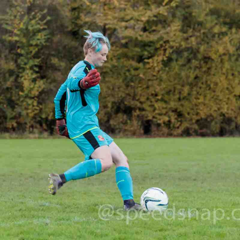 Portishead Town Ladies vs. Swindon Town Ladies Development on 19th November 2017