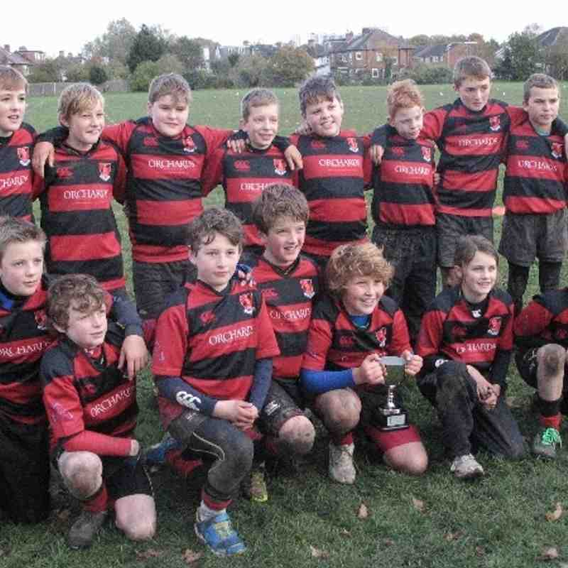 Under 11's Harlequins Curtain Raiser