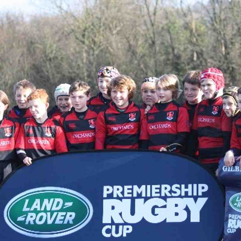 Wasps Landrover Cup Under 11's