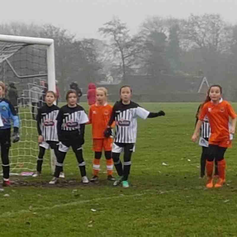 Haslingden Hurricanes U11's vs Blackpool Girls
