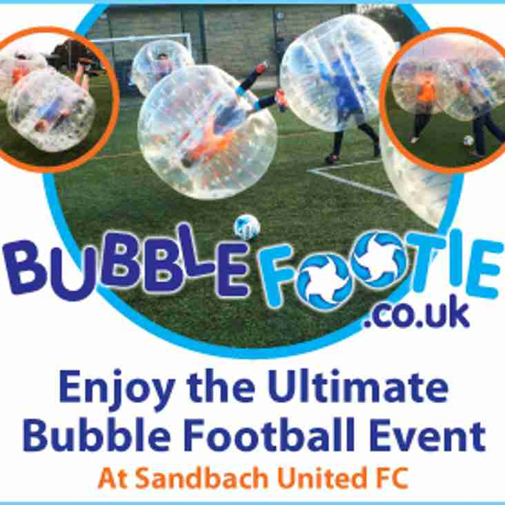 Bubble Footie @ Sandbach Community Football Centre