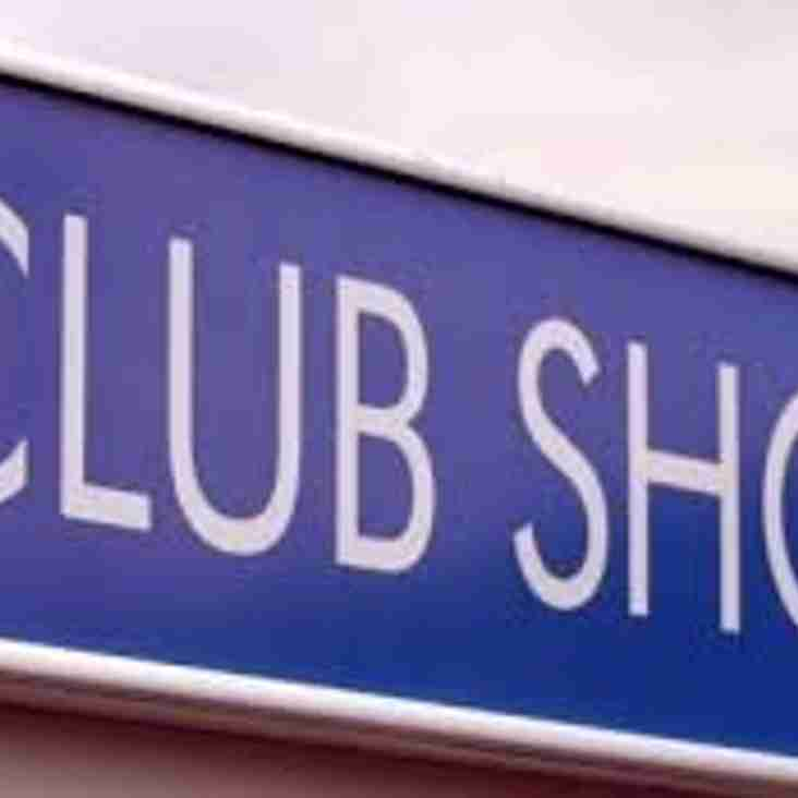 Club Shop is Now OPEN!