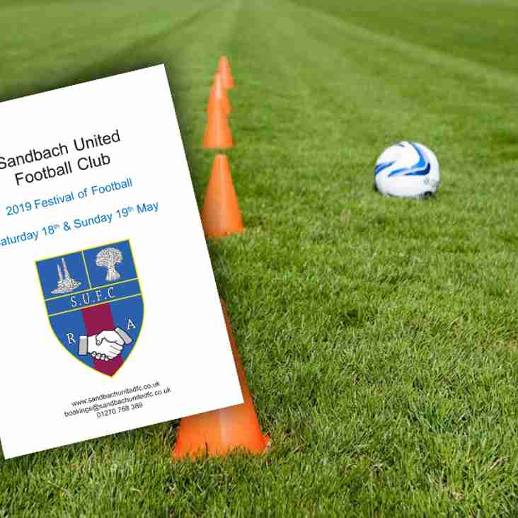 Sandbach United 2019 Football Festival
