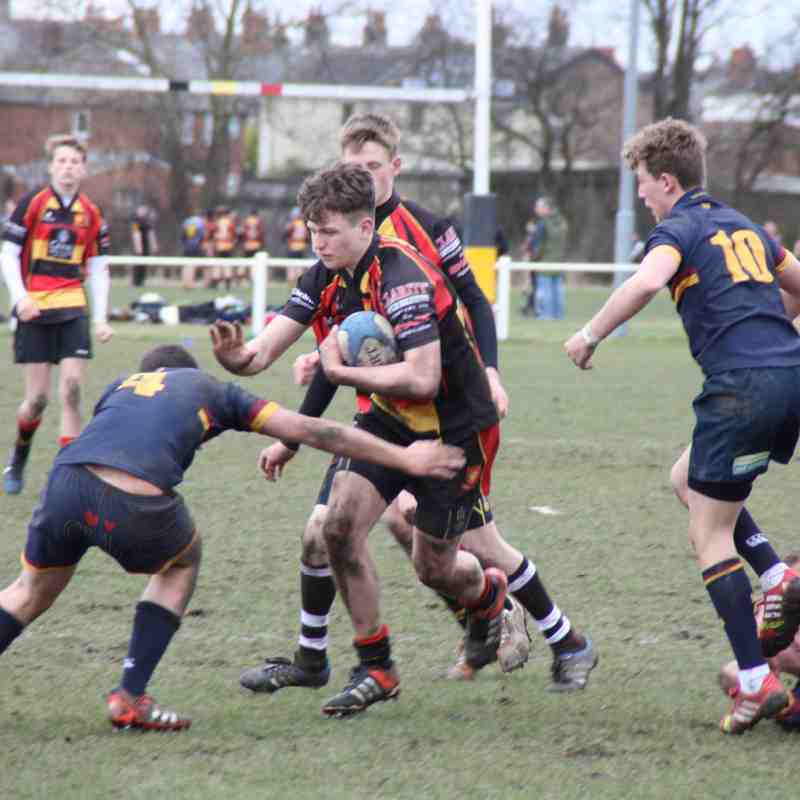 U15s Yorkshire Cup Semi-Final vs Wath-upon Dearne 8/3/15