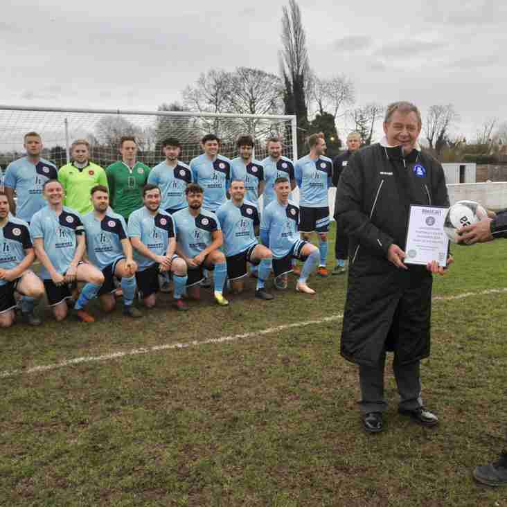 Team of the Month Presentation