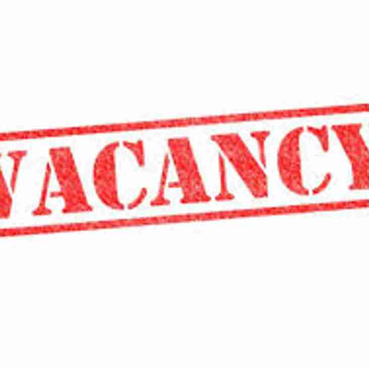 Vacancy: Inter League Cup Manager
