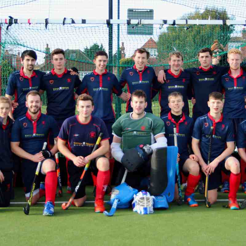 Mens 2's V Sutton Val 16th Dec 2017