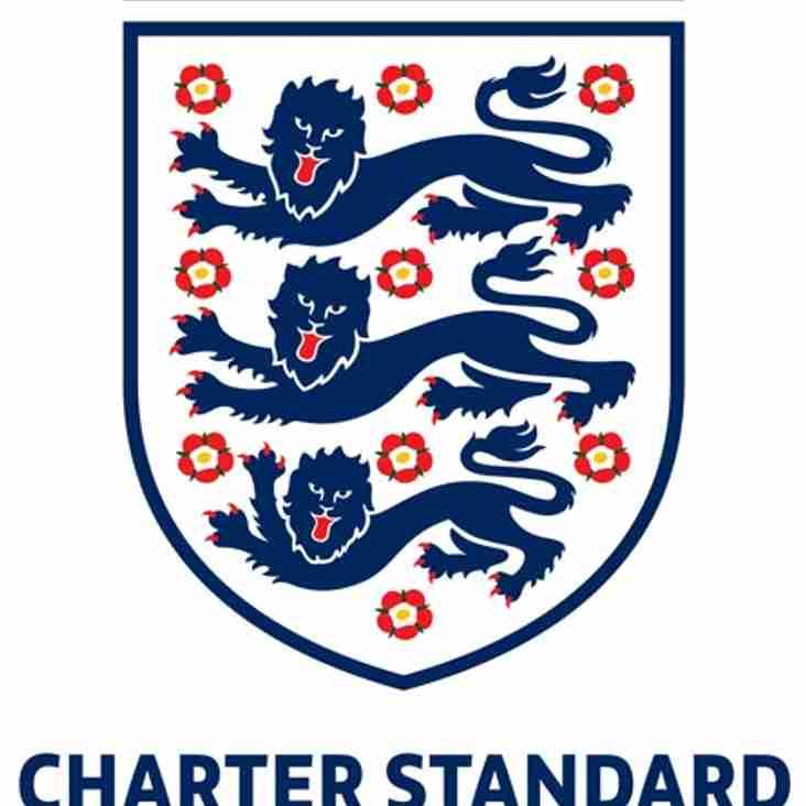 Charter Standard Award Renewed